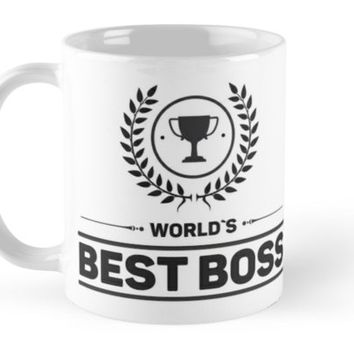 'Best Boss' Mug by Naumovski