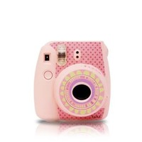 Floral Fuji Mini Camera Sticker for Fujifilm Instax mini 8 - Pink