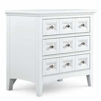 You should see this South Hampton 3 Drawer Nightstand in White on Daily Sales!
