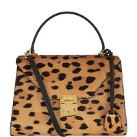 Mark Cross Small Calf-Hair Hadley Tote Bag | Harrods