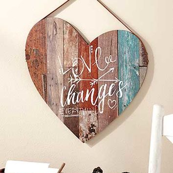 Wooden Pallet Wall Plaques