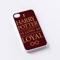 harry potter loyal iPhone 4/4S, 5/5S, 5C,6,6plus,and Samsung s3,s4,s5,s6