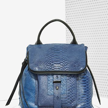 Botkier Warren Leather Backpack - Blue