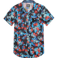Modern Amusement Water Flower Short Sleeve Woven Shirt at PacSun.com
