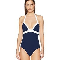 Heidi Klein Harbour Island Push-Up One-Piece