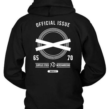 ESBH9S The Weeknd Official Issue Surplus Stock Merchandising Hoodie Two Sided