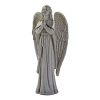 SheilaShrubs.com: Divine Guidance Praying Angel Garden Statue - Medium KY930578 by Design Toscano: Garden Sculptures & Statues