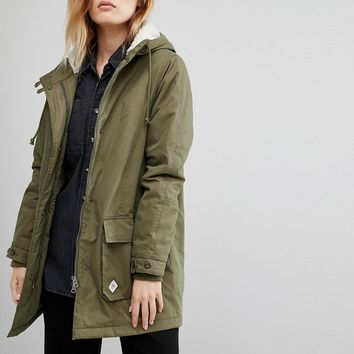 Vans Khaki Hooded Parka