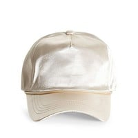 EPTM Cream Satin Trucker Hat