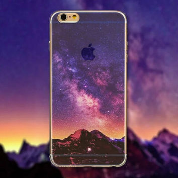 Evening Tourism Scenery iPhone 5 5S iPhone 6 6S Plus Case + Nice Gift Box -125