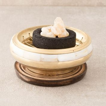 Indian Brass Resin Burner