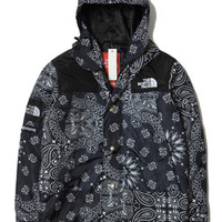 Supreme X North Face Black Bandana Jacket