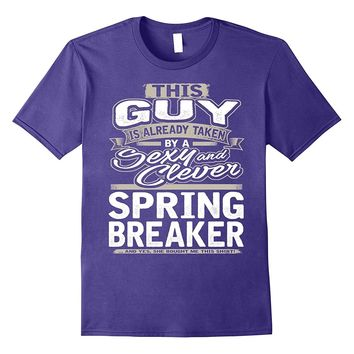 Spring Break Shirt Gift For Boyfriend Husband Fiance 1