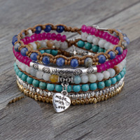 Multi Color Wrap Bracelet-In Stock