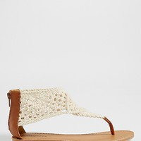 Audra crocheted sandal | maurices
