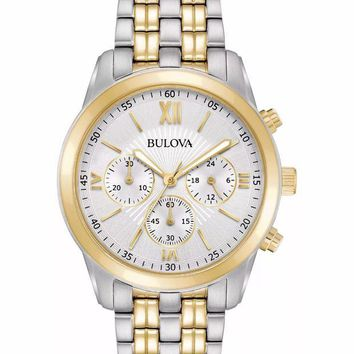 DCCKON2 BULOVA A16 TWO-TONE CHRONOGRAPH QUARTZ WATCH