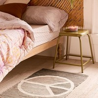 Peace Sign Printed 2x3 Rug | Urban Outfitters