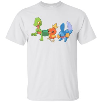 POKEMON - 20TH ANNIVERSARY HOENN STARTERS T SHIRT
