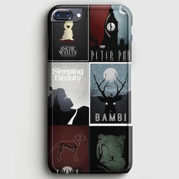 Minimalist Disney Film Posters iPhone 8 Plus Case | casescraft