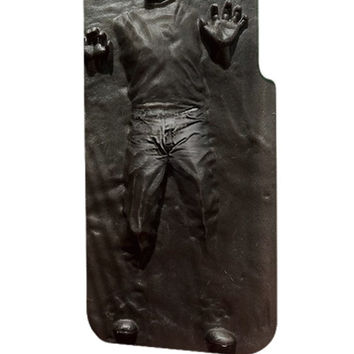 Best 3D Full Wrap Phone Case - Hard (PC) Cover with Steve Jobs in Carbonite Design