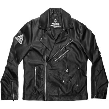 Straight 2 Hell Vegan Leather Jacket
