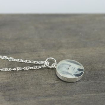 Custom Petite Photo Necklace