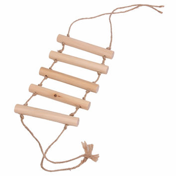 New Small Parrot Rat Toy Bridge Ladder Hamster Bird Cage Accessories 2015 New Promotion