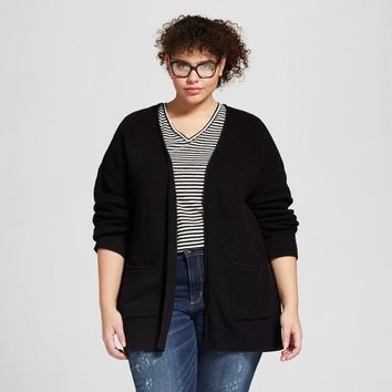Women's Plus Size Open Layering Cardigan - Universal Thread™