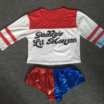 Harley Quinn Costume Suicide Squad TOP