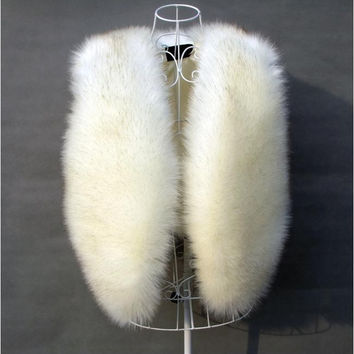 Sea Fur Vest Sleeveless Jacket [9328121540]
