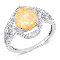 Sparkling Opal Ring
