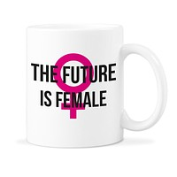 The Future is Female Mug Feminist Coffee Mugs Feminism Cup Resistance Cups Womens Rights