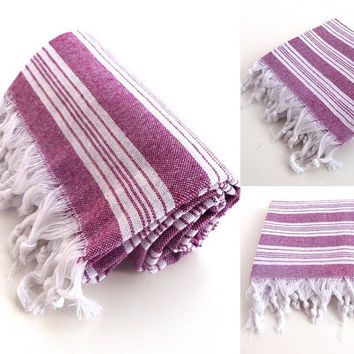 SUMMER TRENDS , bath  TOWEL ,Turkish Bath Towel , Beach, Spa Towel, Sarong, Paroe,Striped, Peshtemal, beach towel, turkish bath towel
