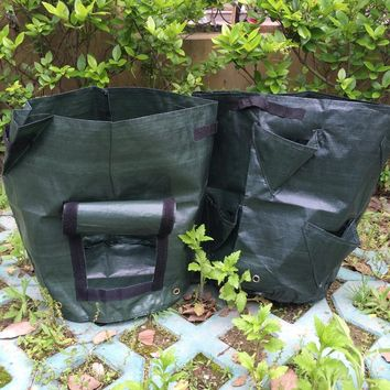 Potato strawberry  vegetable cultivationplanting bags PE bags Grow Bags Garden Pots & Planters garden supplies