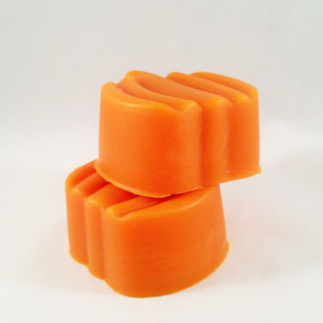 Scented Wax Melts (Sold in pack of 2) - Sweet Pumpkin Spice Scented Pumpkin Shaped Wax Tarts, Wax Cubes, Candle Melts, Wax Melts