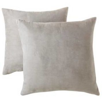 "Room Essentials™ Suede Pillow 2-Pack (18x18"")"