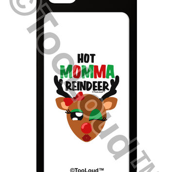 Hot Momma Reindeer Matching Deer iPhone 5 / 5S Grip Case