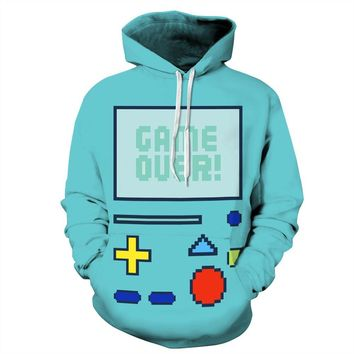 Adventure Time - BMO Robot - Epic Hoodie