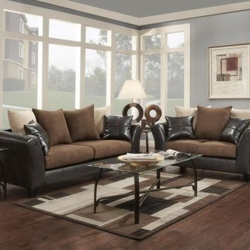 Washington 2pc: Sofa and Loveseat