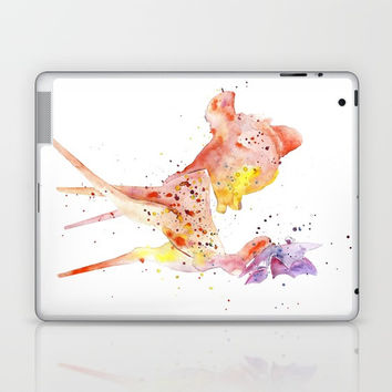 Bambi Meets Butterfly Laptop & iPad Skin by MIKART
