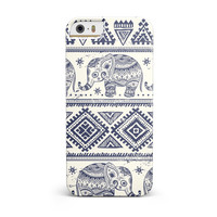 Sacred Elephant Pattern iPhone 5/5S/SE INK-Fuzed Case