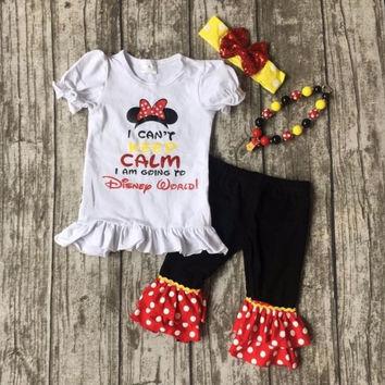 Minnie Mouse I Can't Keep Calm Outfit