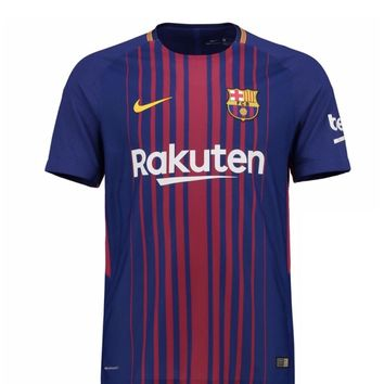 match shirt fc barcelona home 17/18 jersey