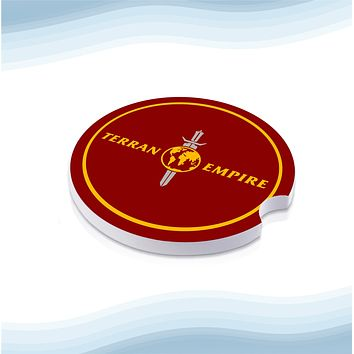 Star TrekTerran Empire Car Cup Holder Ceramic Coasters (Set of 2)