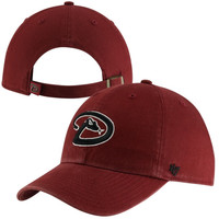 Arizona Diamondbacks '47 Brand Basic Logo Clean Up Adjustable Hat – Sedona Red