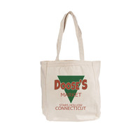 Doose's Market gilmore girls Canvas book Tote bags Natural color 008
