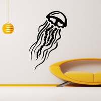 Wall Decal Vinyl Sticker Animal Jellyfish Medusa Sea Ocean Decor Sb401
