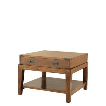 Wood Side Table | Eichholtz Military