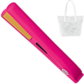 Ultra CHI Spring Pink & Yellow Flat Iron & Hair Straightener | Ulta Beauty