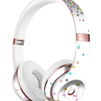 Scattered Colorful Micro Dots All Over Full-Body Skin Kit for the Beats by Dre Solo 3 Wireless Headphones